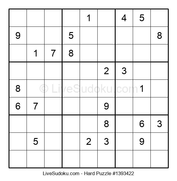 Hard Puzzle #1393422