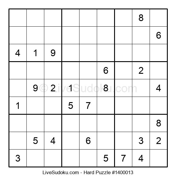 Hard Puzzle #1400013