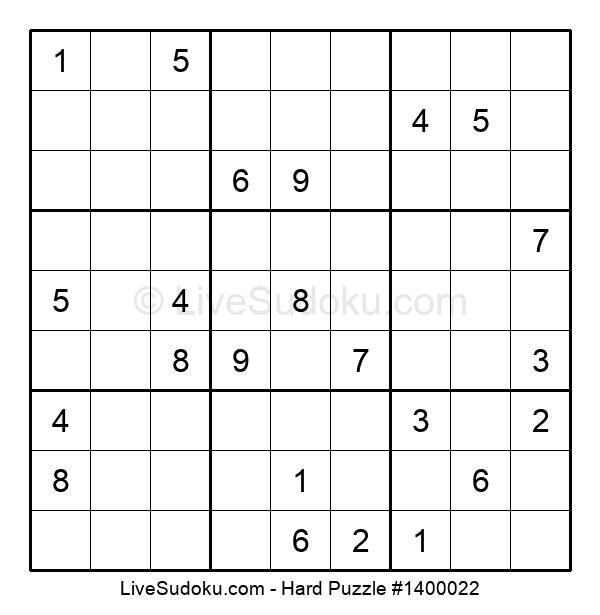 Hard Puzzle #1400022