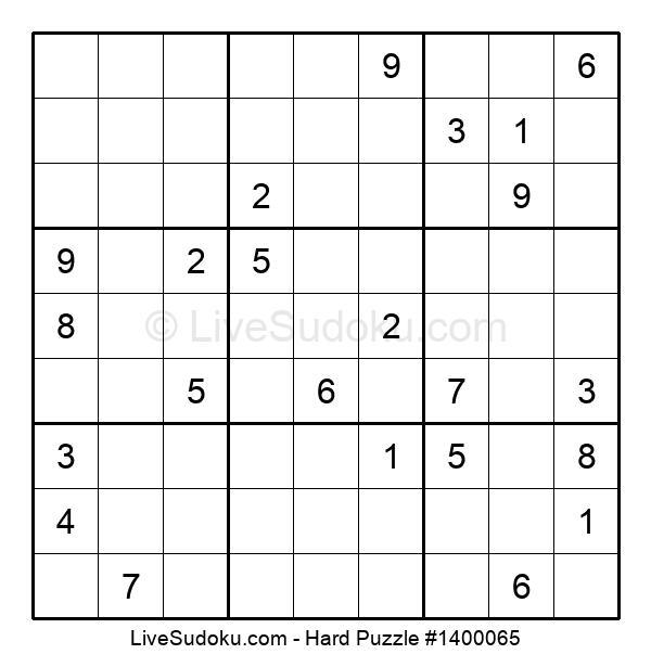 Hard Puzzle #1400065