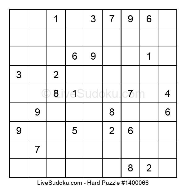 Hard Puzzle #1400066