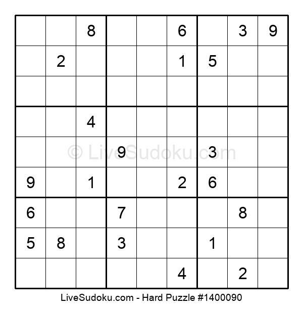 Hard Puzzle #1400090