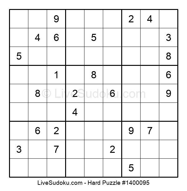 Hard Puzzle #1400095