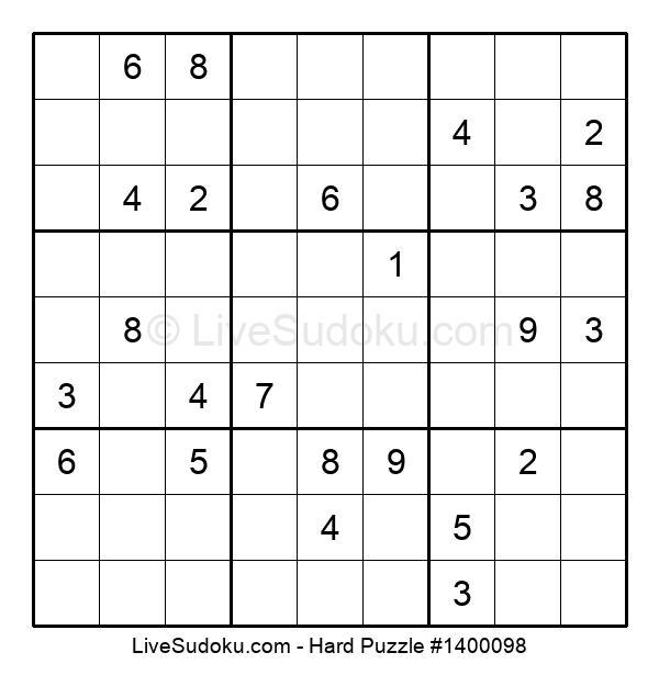 Hard Puzzle #1400098