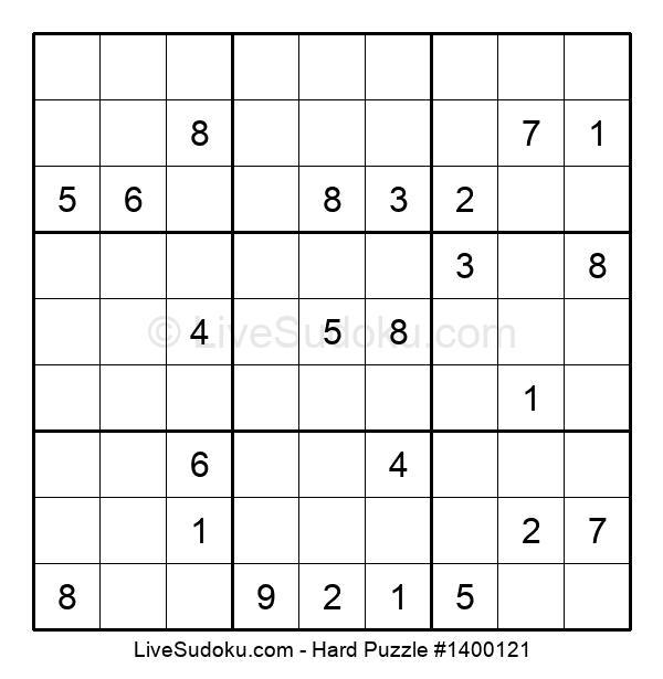 Hard Puzzle #1400121