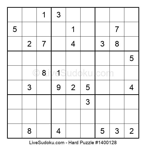 Hard Puzzle #1400128