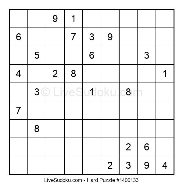 Hard Puzzle #1400133