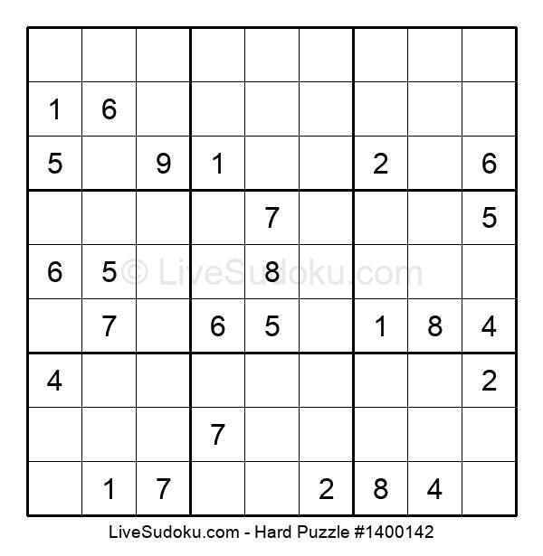 Hard Puzzle #1400142