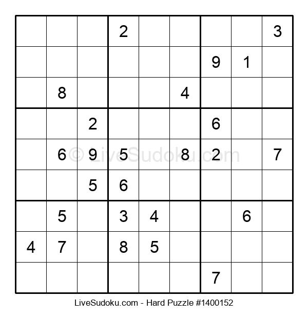 Hard Puzzle #1400152