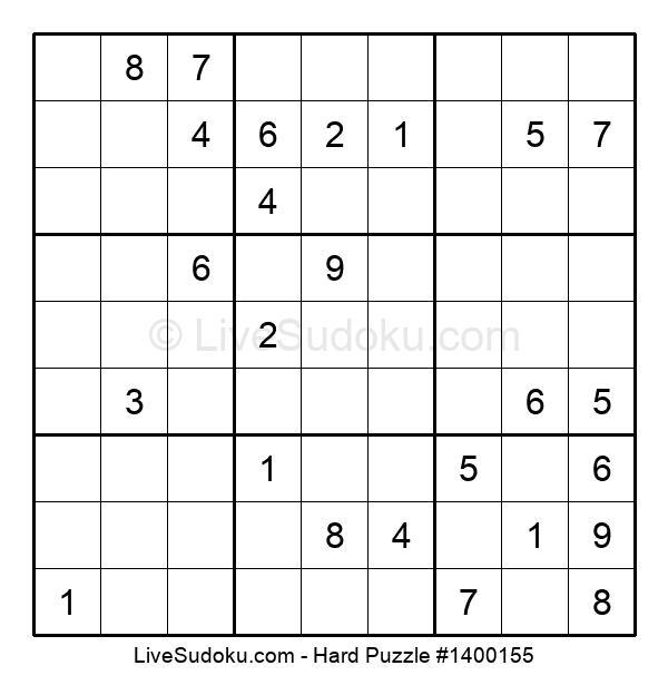Hard Puzzle #1400155