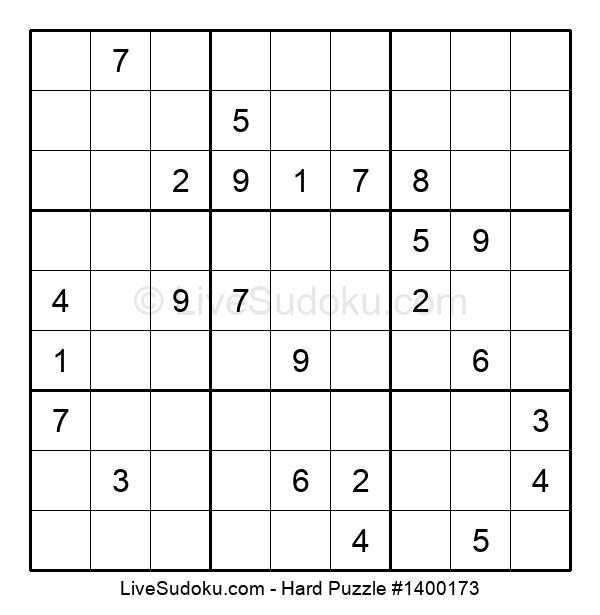 Hard Puzzle #1400173