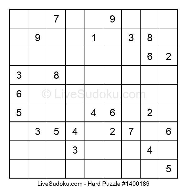 Hard Puzzle #1400189