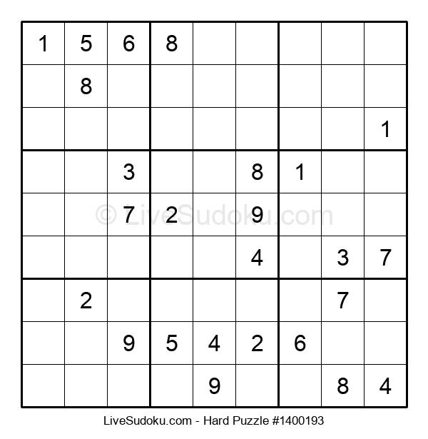 Hard Puzzle #1400193