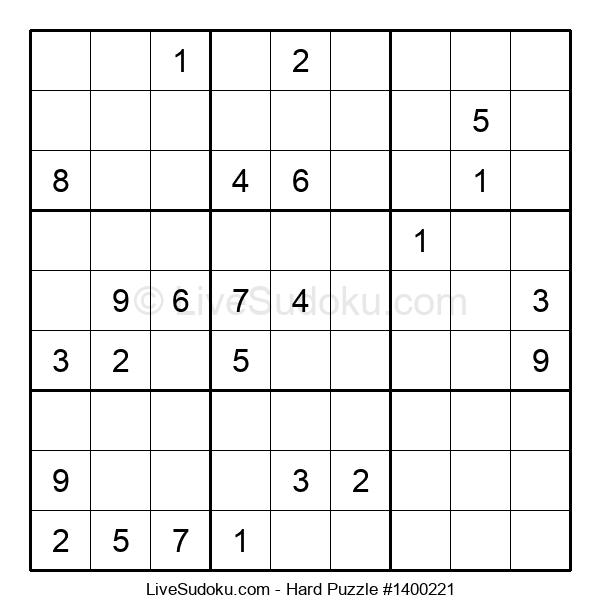 Hard Puzzle #1400221