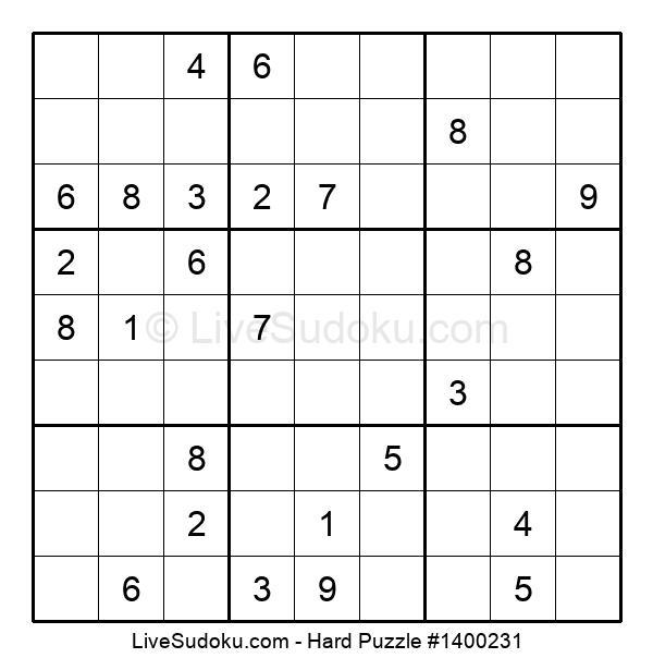 Hard Puzzle #1400231