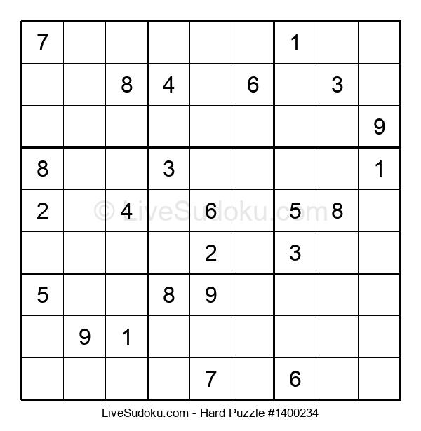 Hard Puzzle #1400234