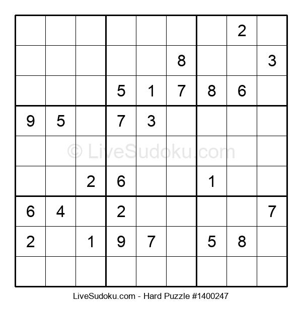 Hard Puzzle #1400247