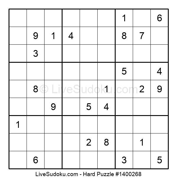Hard Puzzle #1400268