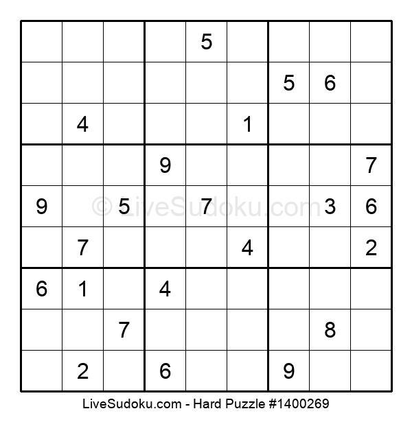 Hard Puzzle #1400269