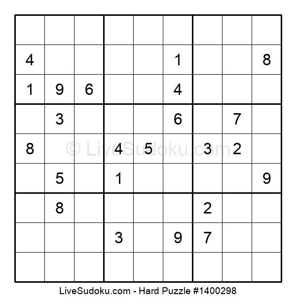 Hard Puzzle #1400298