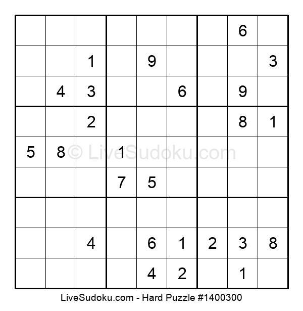 Hard Puzzle #1400300