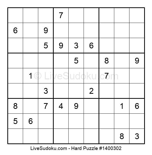 Hard Puzzle #1400302