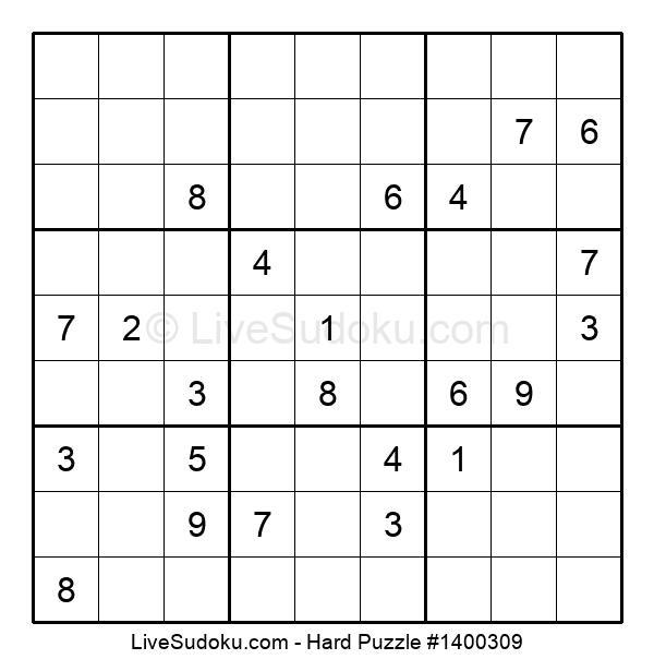 Hard Puzzle #1400309