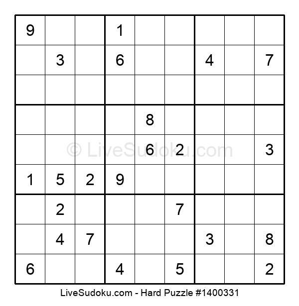 Hard Puzzle #1400331