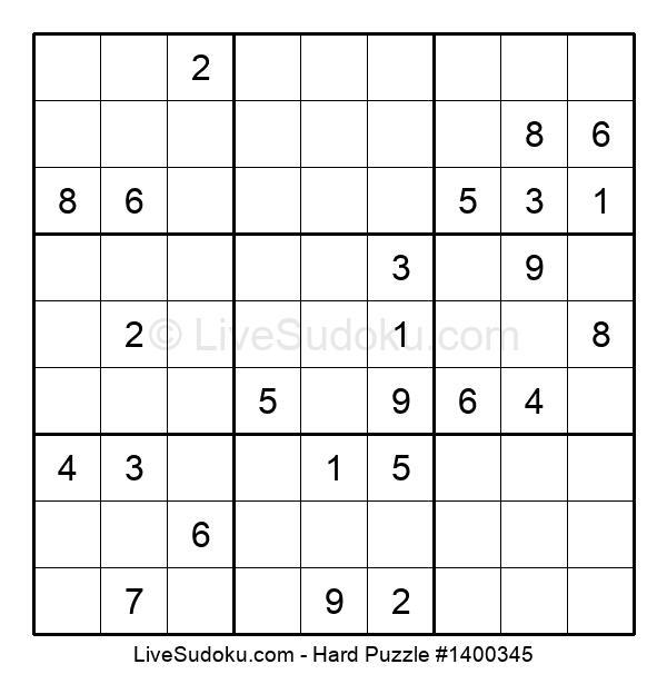 Hard Puzzle #1400345