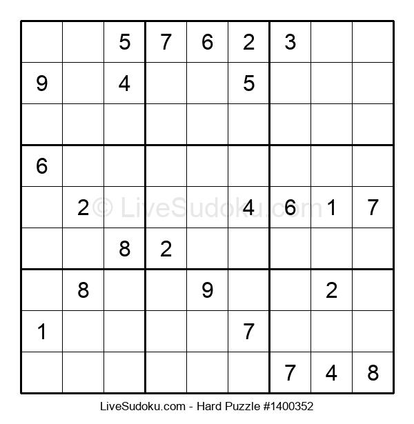 Hard Puzzle #1400352