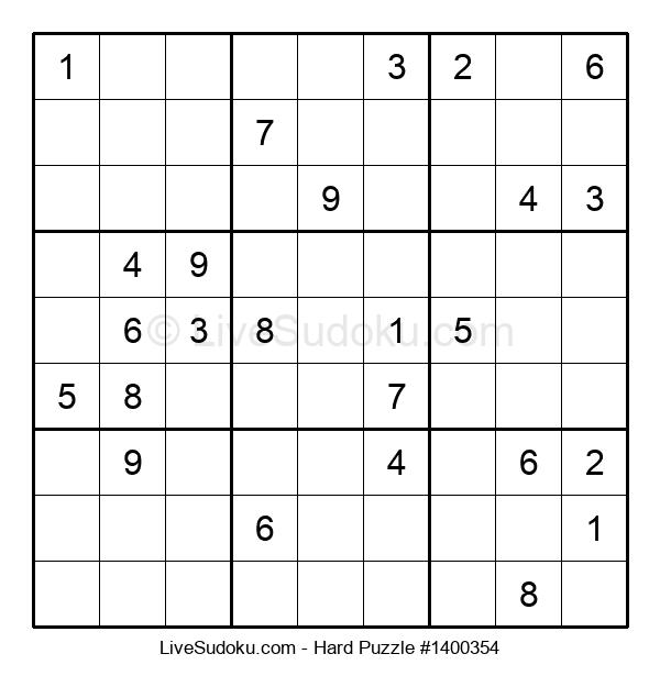 Hard Puzzle #1400354