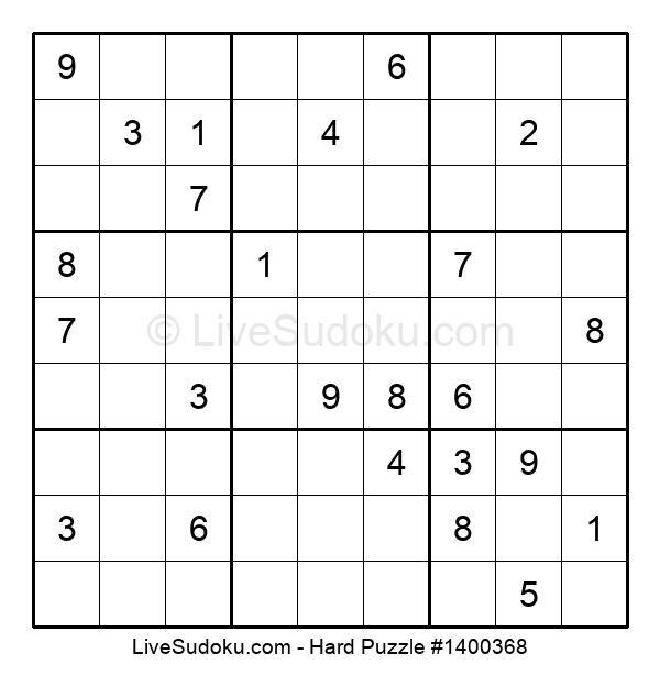 Hard Puzzle #1400368