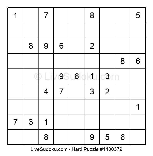 Hard Puzzle #1400379