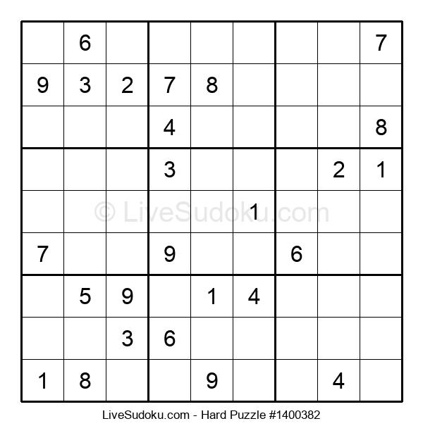 Hard Puzzle #1400382