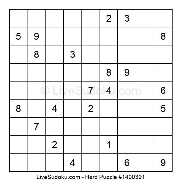 Hard Puzzle #1400391
