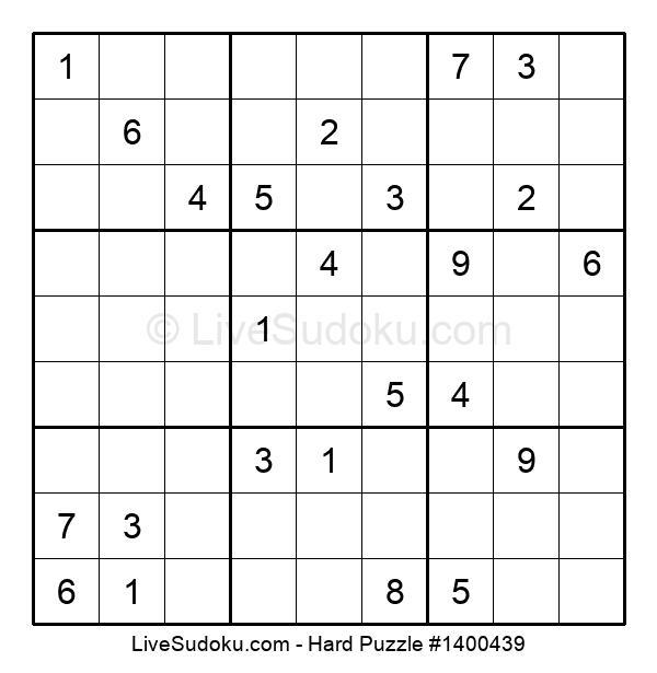 Hard Puzzle #1400439
