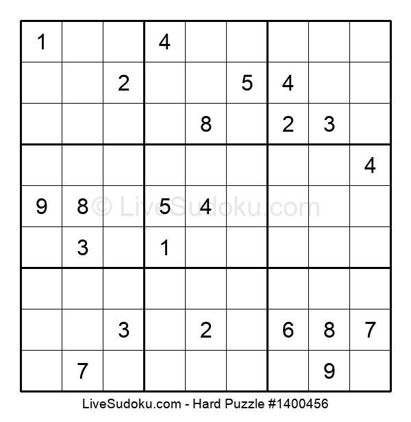 Hard Puzzle #1400456