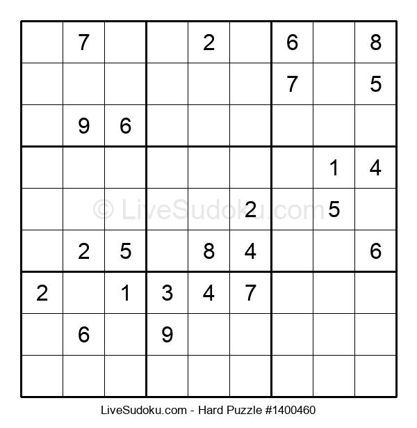 Hard Puzzle #1400460