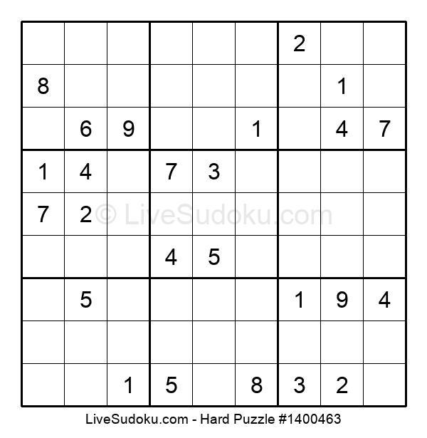 Hard Puzzle #1400463