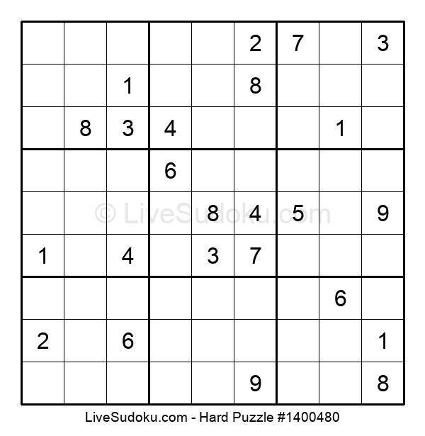 Hard Puzzle #1400480