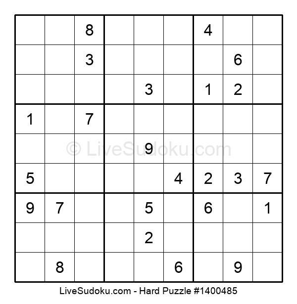 Hard Puzzle #1400485