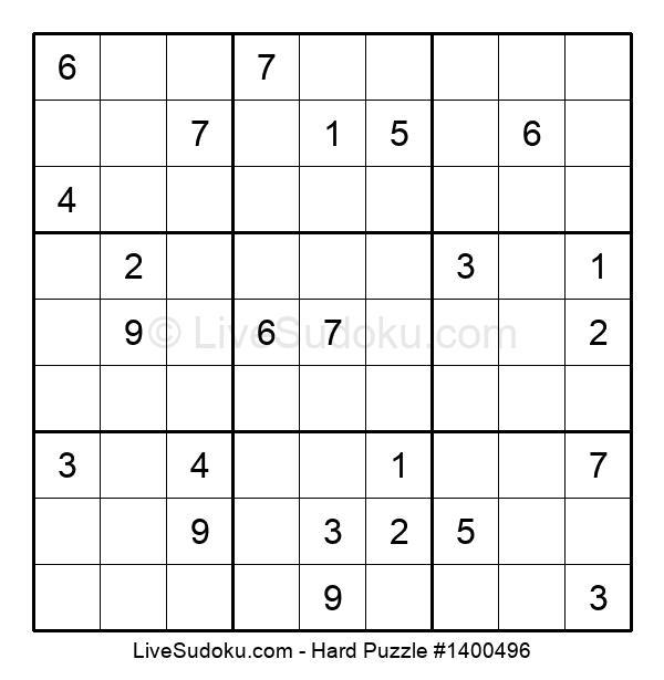 Hard Puzzle #1400496