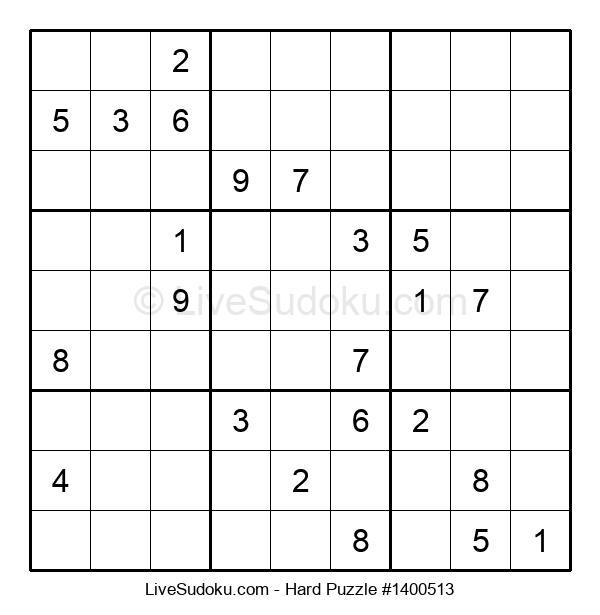 Hard Puzzle #1400513