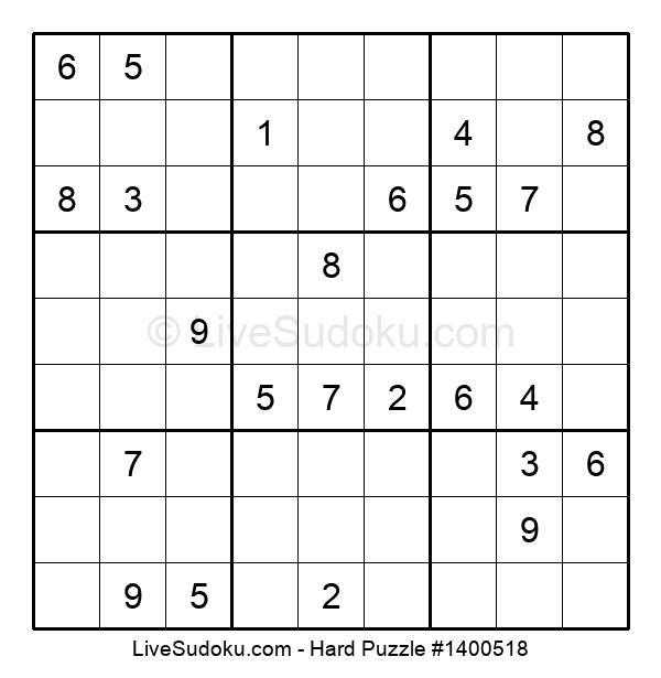 Hard Puzzle #1400518