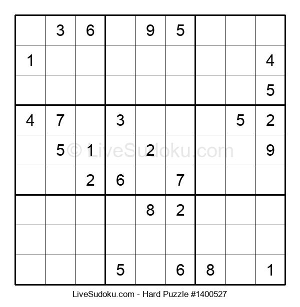 Hard Puzzle #1400527