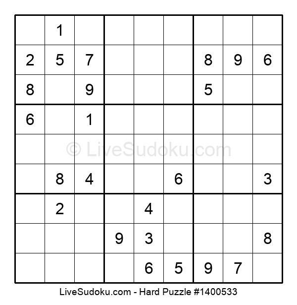 Hard Puzzle #1400533