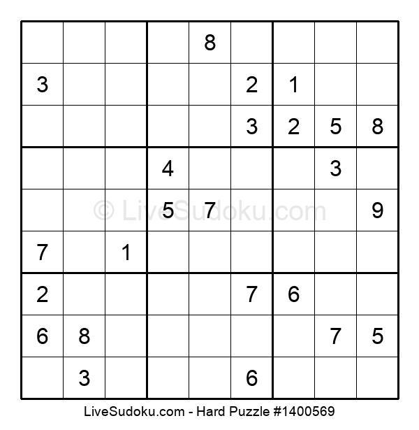 Hard Puzzle #1400569