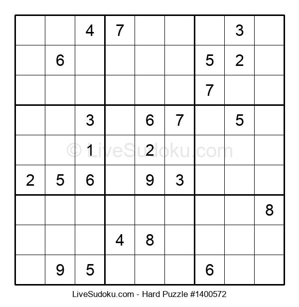 Hard Puzzle #1400572