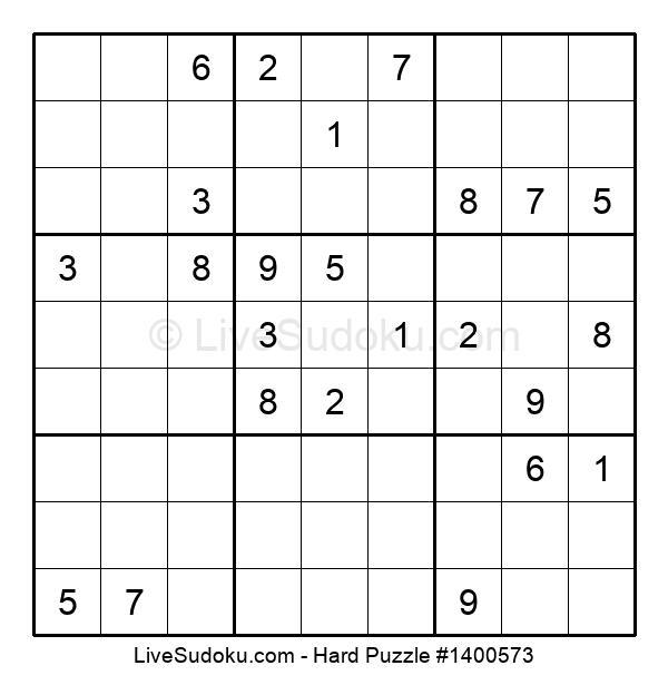 Hard Puzzle #1400573