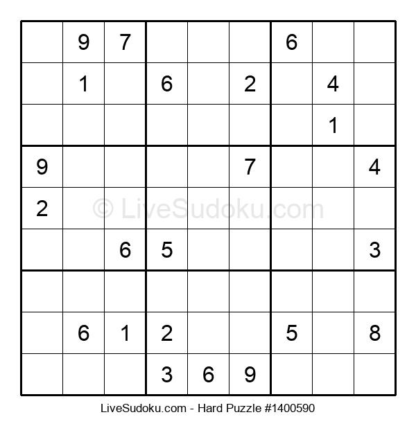 Hard Puzzle #1400590